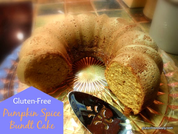 Gluten-Free Pumpkin Spice Bundt Cake Gluten Free Easily