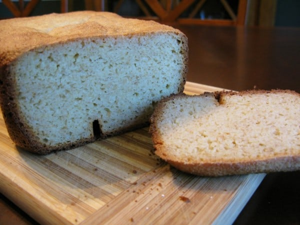 Yeast-Based Paleo Bread Made in Bread Machine from The Paleo Mom