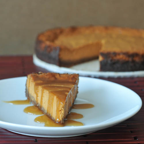 Maple Cream Pumpkin Pie with Buttery Gingersnap Crust from Spabettie