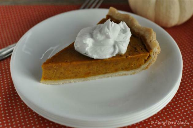 Maple Pumpkin Pie from Allergy Free Alaska