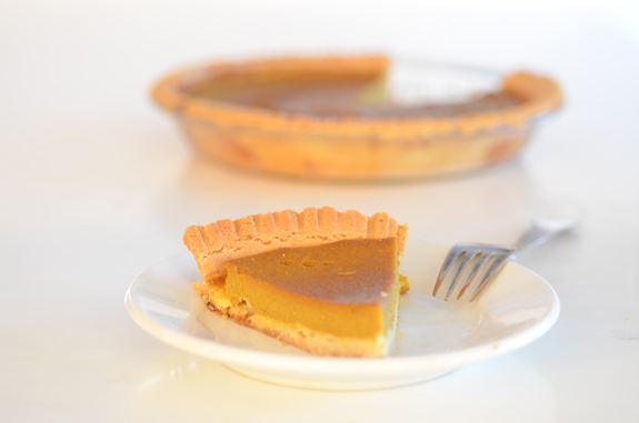 Paleo Pumpkin Pie from Elana's Pantry