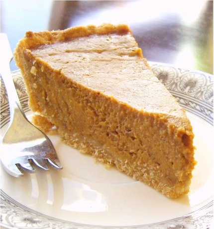 Perfect Pantry Pumpkin Pie from Go Dairy Free