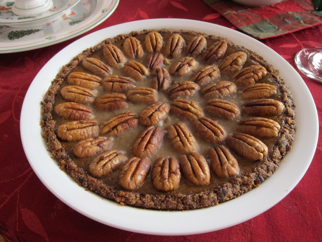 Pumpkin Pecan Pie from Simply Living Healthy