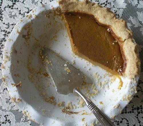 Pumpkin Pie from Art of Gluten-Free Baking