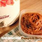Even Healthier Pumpkin Butter