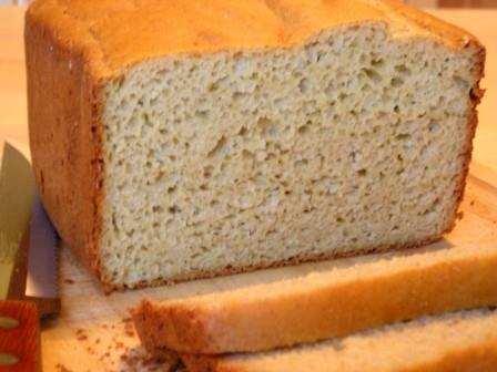 Sorghum Bread Made in Bread Machine from The Gluten-Free Homemaker
