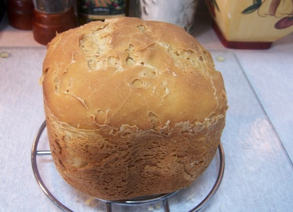 Spectacular Gluten-Free Bread in Bread Machine from Skinny GF Chef