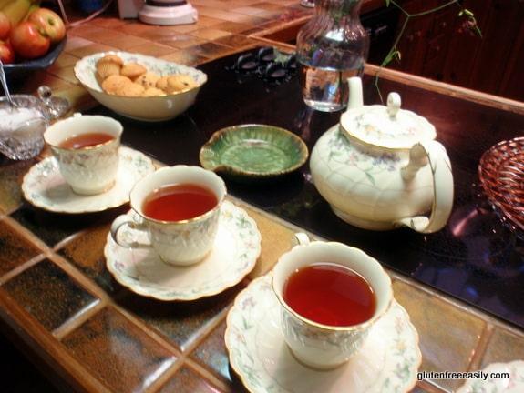Tea for Three Gluten Free Easily