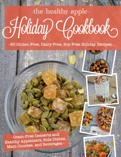 gluten-free Thanksgiving recipes, gluten-free Christmas recipes, gluten-free Hanukkah recipes, gluten free, Amie Valpone, The Healthy Apple