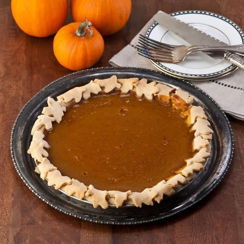 Tipsy Pumpkin Butter Pie from Gluten Free Canteen