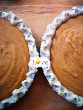 Vegan Pumpkin Pie from And Love It, Too!