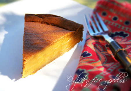 Vegan Pumpkin Pie from Gluten-Free Goddess