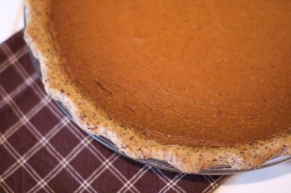 Vegan Pumpkin Pie from Sarah Bakes Gluten-Free Treats