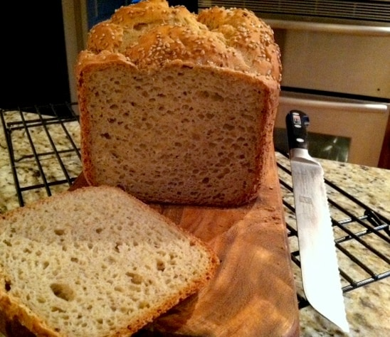 Gluten-Free Beer Bread Made in Bread Machine from GF Jules
