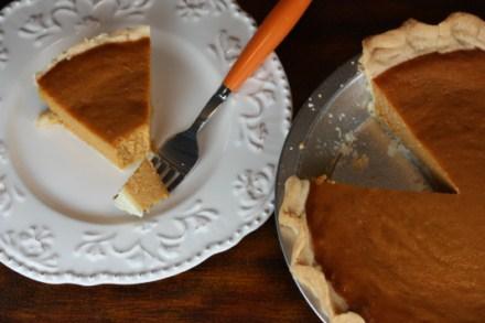 Easy Pumpkin Pie from Lynn's Kitchen Adventures