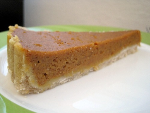Pumpkin Pie from Chosen Bites