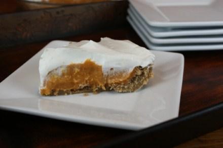Pumpkin Cream Pie from Lynn's Kitchen Adventures