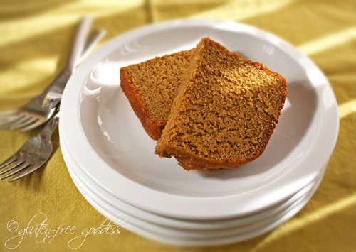 Pumpkin Pie Bread Made in Bread Machine from Gluten-Free Goddess