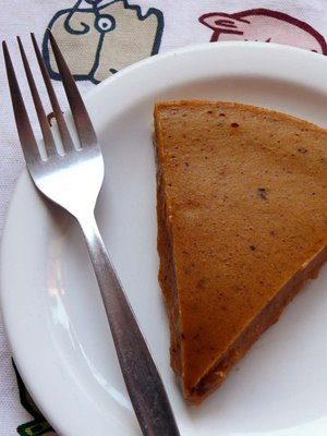 Vanilla Pumpkin Pie from Straight Into Bed Cakefree and Dried