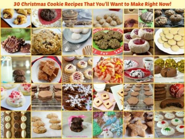 30-Gluten-Free-Christmas-Cookie-Recipes Gluten Free Easily