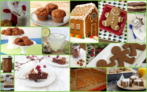 A Sampling of Gluten-Free Ginger and Gingerbread Recipes [Featured on All Gluten-Free Desserts.com]