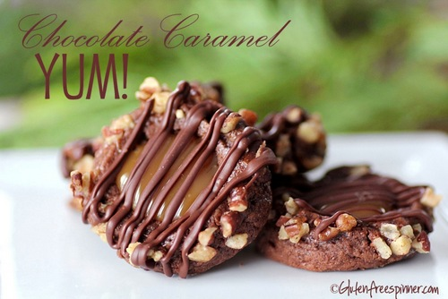 Chocolate Caramel Yums from Gluten Free Spinner