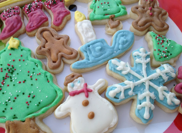 Cutout Christmas Cookies from Hope's Kitchen