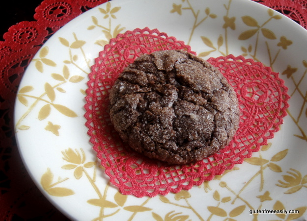 Flourless Sparkling Chocolate Cookies from Gluten Free Easily