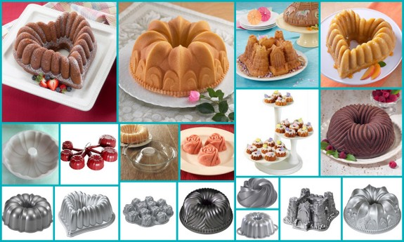 Special Bundt Pans Used to Make Bundt Cakes [Featured on AllGlutenFreeDesserts.com]