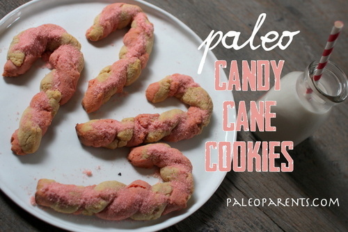 Candy Cane Cookies from Paleo Parents