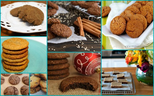 Some of the Gluten-Free Ginger Cookies Featured on All Gluten-Free Desserts