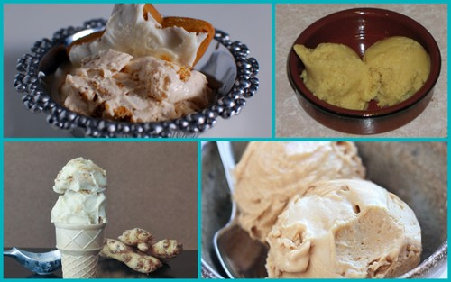 Gluten-Free Ginger & Gingerbread Ice Cream Recipes Featured on All Gluten-Free Desserts