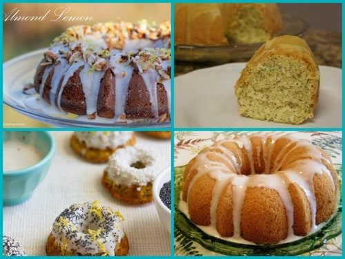 Gluten-Free Lemon Bundt Cakes. Some of the 50 Gluten-Free Bundt Cakes. [Featured on GlutenFreeEasily.com]