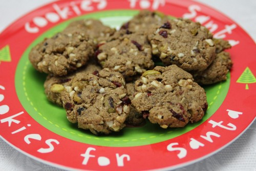 Holiday Hermit (Fruitcake) Cookies from The Paleo Mom