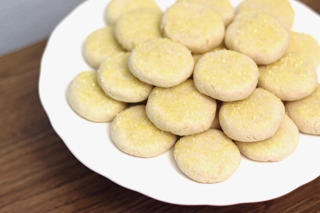 Lemon Sugar Cookies from Sarah Bakes Gluten-Free Treats