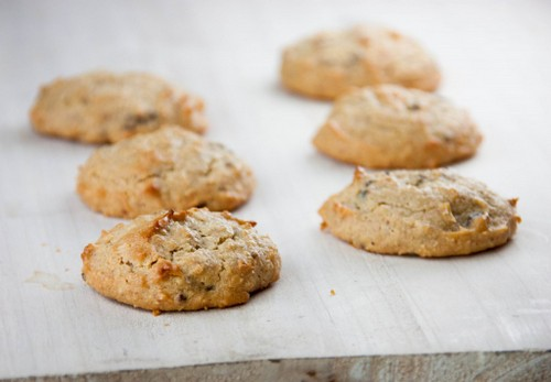 Macadamia Coconut Cookies with Cacao Nibs from Tasty Eats At Home