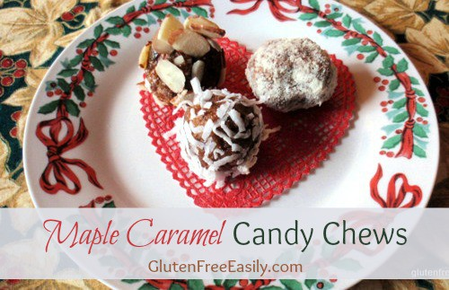Maple Caramel Candy Chews from gluten free easily