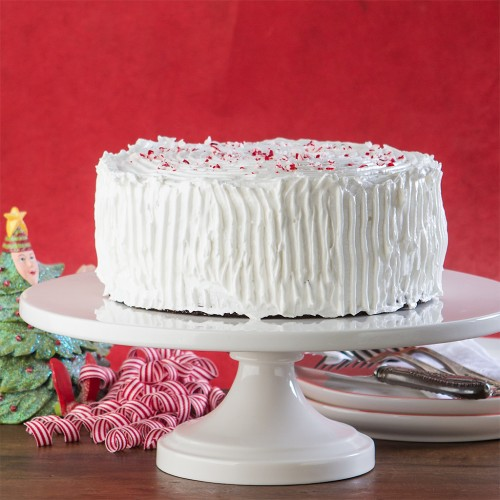 Merry Holiday Chocolate Peppermint Cake from Gluten Free Canteen