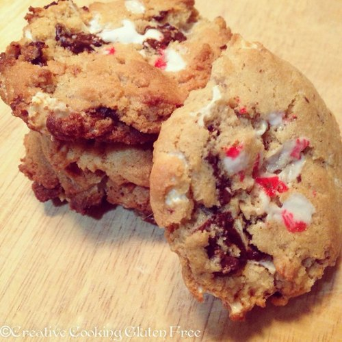 Peppermint Hot Chocolate Cookies from Creative Cooking Gluten Free