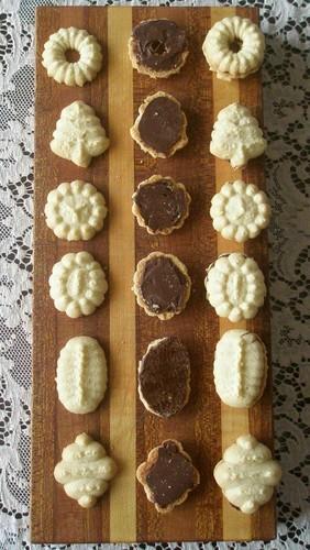 Pressed Butter (Spritz) Cookies from Art of Gluten-Free Baking