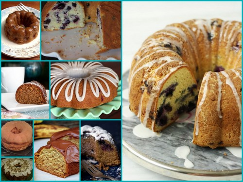 Some of the Bundt Cakes Featured on All Gluten-Free Desserts--These Would Make Such Beautiful Holiday Gifts