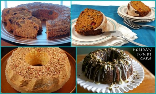 Gluten-Free Bundt Cake Recipes. Special Holiday Bundt Cakes [featured on GlutenFreeEasily.com]