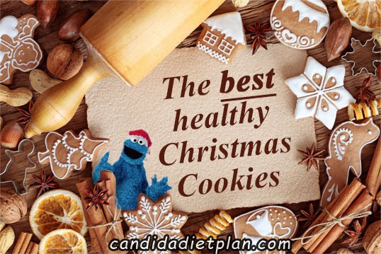 best gluten-free cookie recipes, gluten-free Christmas cookie recipes, healthy gluten-free Christmas cookie recipes, Candida Diet Plan