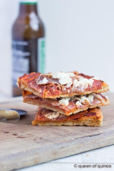 Best Gluten-Free Pizza Crust from Queen of Quinoa