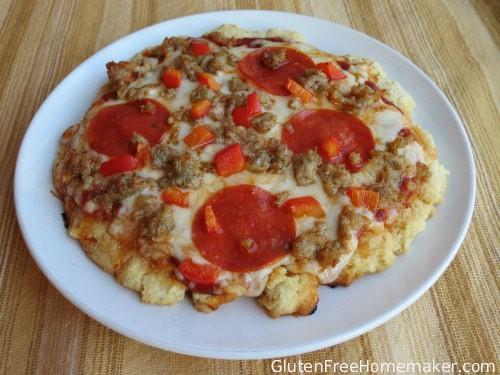 Gluten-Free Biscuit Pizza Crust from The Gluten-Free Homemaker