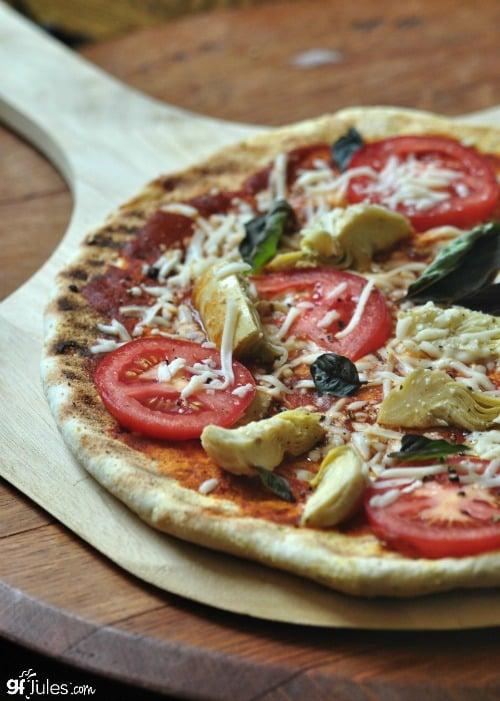 Gluten-Free Grilled Pizza Crust GF Jules