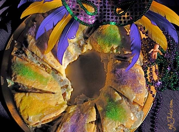 Gluten-Free King Cake for Mardi Gras