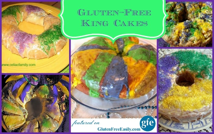 Your choice of gluten-free King Cakes for Mardi Gras! Even one that is grain free and paleo! Laissez les bons temps rouler!