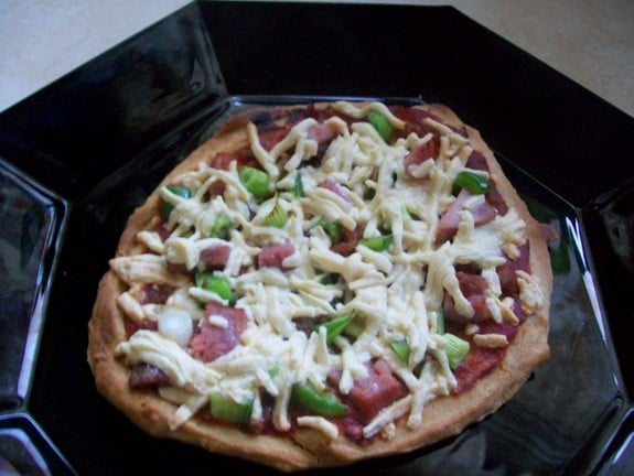 Gluten-Free Pizza Crust from Sandi's Allergy-Free Recipes