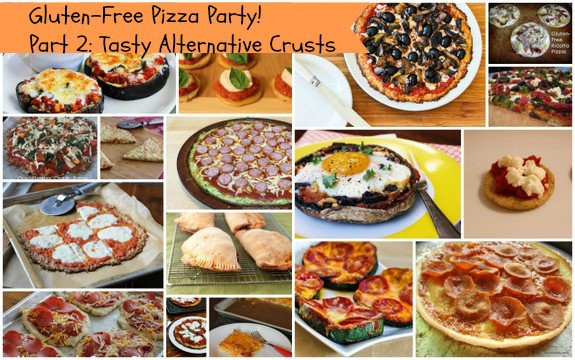 Gluten-Free Pizza Party Alternative Pizza Crusts